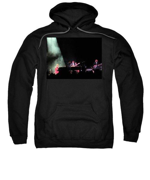 Elton And Band Sweatshirt by Aaron Martens