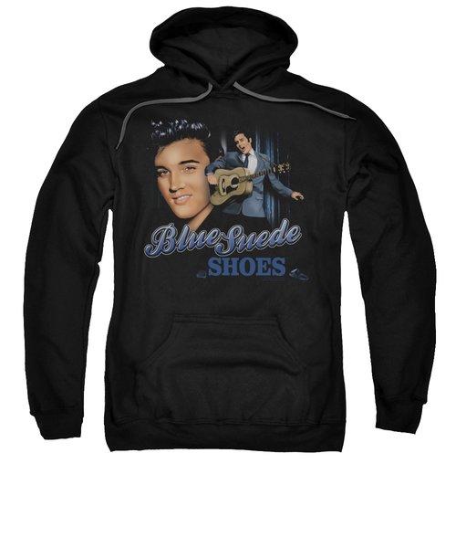 Elvis - Blue Suede Shoes Sweatshirt by Brand A