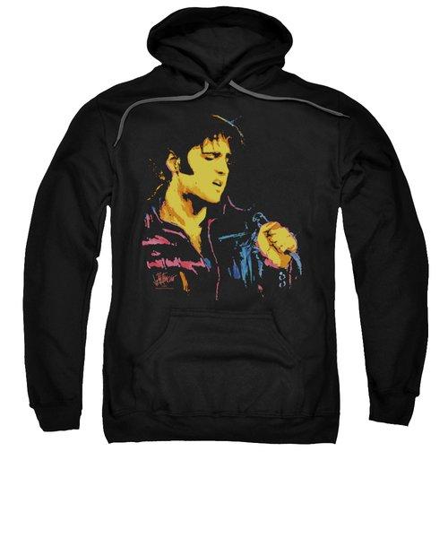 Elvis - Neon Elvis Sweatshirt by Brand A