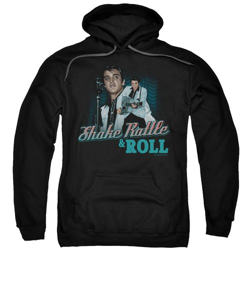 Elvis - Shake Rattle And Roll Sweatshirt by Brand A