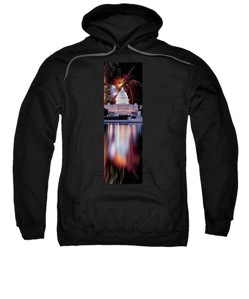 Firework Display Over A Government Sweatshirt by Panoramic Images