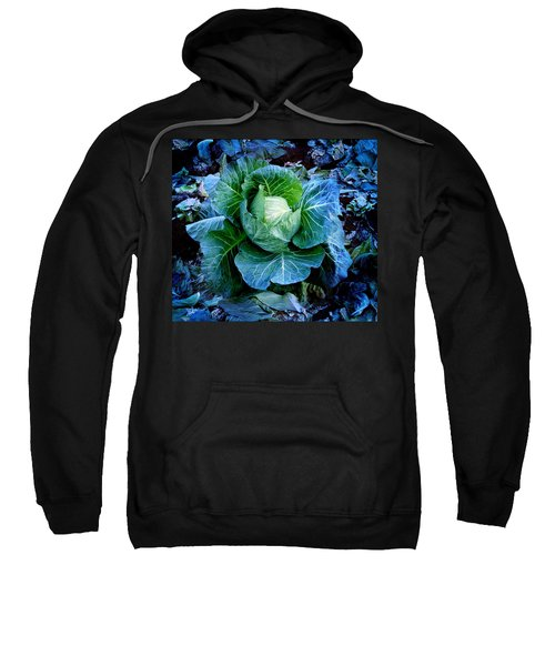Flower Sweatshirt by Julian Cook