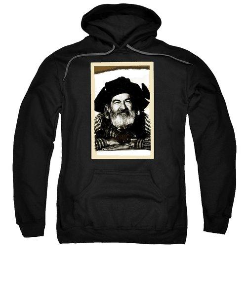 George Hayes Portrait #1 Card Sweatshirt by David Lee Guss