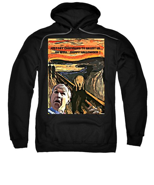 Ghosts Of The Past Sweatshirt by John Malone