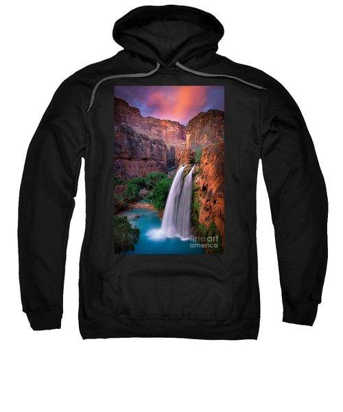 Havasu Falls Sweatshirt by Inge Johnsson
