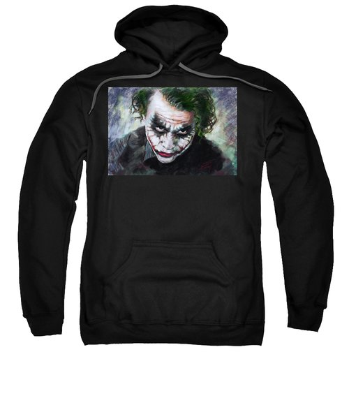 Heath Ledger The Dark Knight Sweatshirt by Viola El