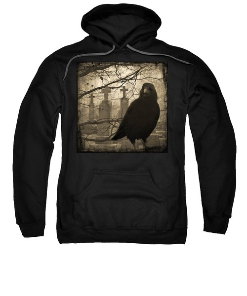Her Graveyard Sweatshirt by Gothicrow Images