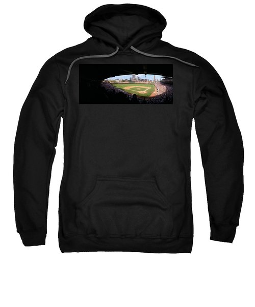 High Angle View Of A Baseball Stadium Sweatshirt by Panoramic Images