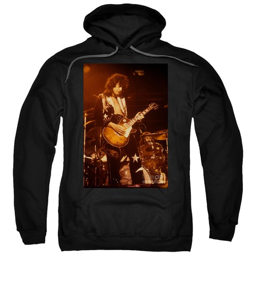 Jimmy Page 1975 Sweatshirt by David Plastik