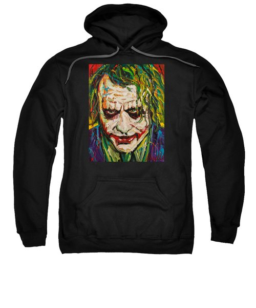 Joker Sweatshirt by Michael Wardle