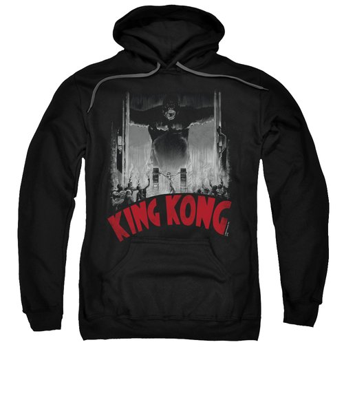 King Kong - At The Gates Poster Sweatshirt by Brand A