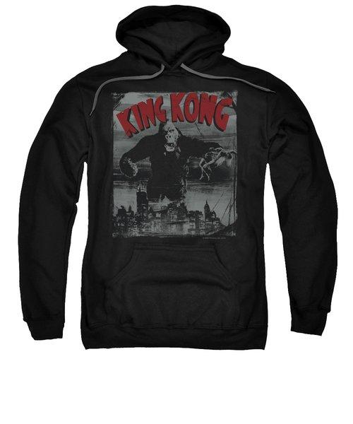 King Kong - City Poster Sweatshirt by Brand A