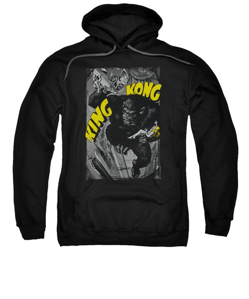 King Kong - Crushing Poster Sweatshirt by Brand A