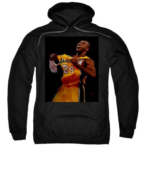 Kobe Bryant Sweet Victory Sweatshirt by Brian Reaves