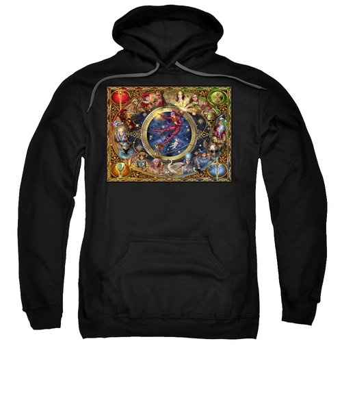 Legacy Of The Divine Tarot Sweatshirt by Ciro Marchetti