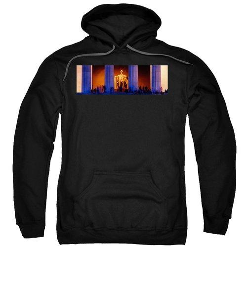 Lincoln Memorial, Washington Dc Sweatshirt by Panoramic Images