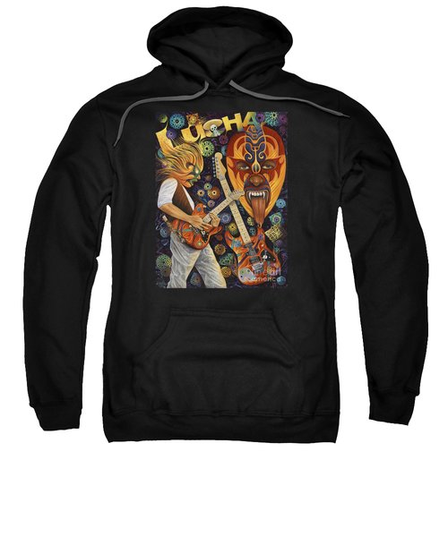 Lucha Rock Sweatshirt by Ricardo Chavez-Mendez