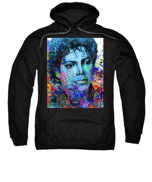 Michael Jackson 14 Sweatshirt by Bekim Art
