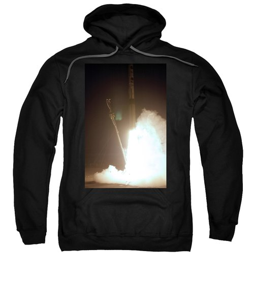 Minotaur Rocket Launch Sweatshirt by Science Source