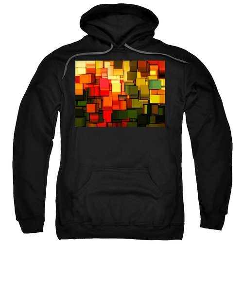 Modern Abstract I Sweatshirt by Lourry Legarde