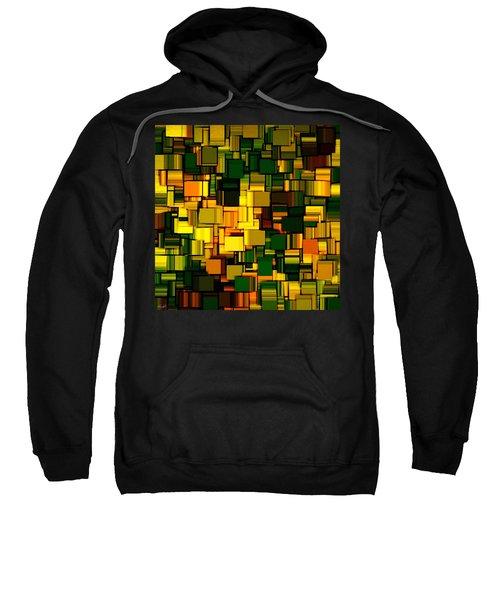 Modern Abstract Xxii Sweatshirt by Lourry Legarde