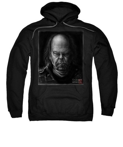 Neil Young Sweatshirt by Andre Koekemoer