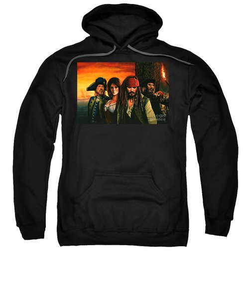Pirates Of The Caribbean  Sweatshirt by Paul Meijering
