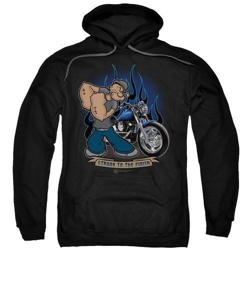 Popeye - Biker Popeye Sweatshirt by Brand A