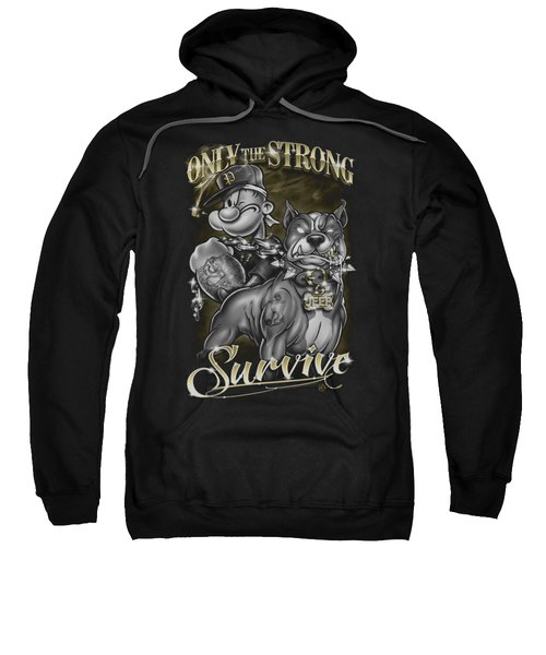 Popeye - Only The Strong Sweatshirt by Brand A