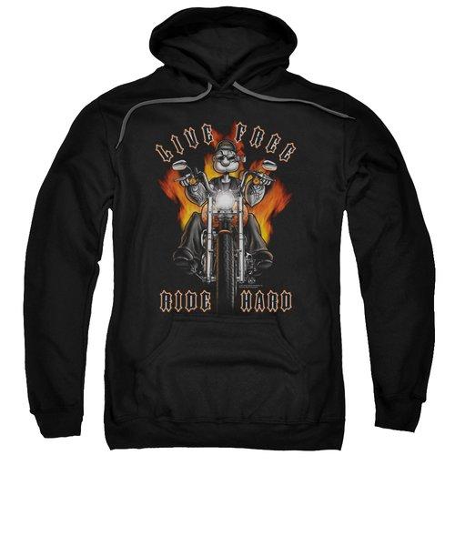 Popeye - Ride Hard Sweatshirt by Brand A