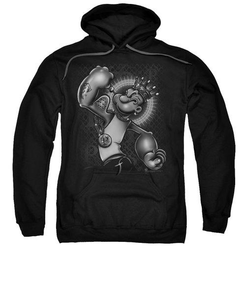 Popeye - Spinach King Sweatshirt by Brand A
