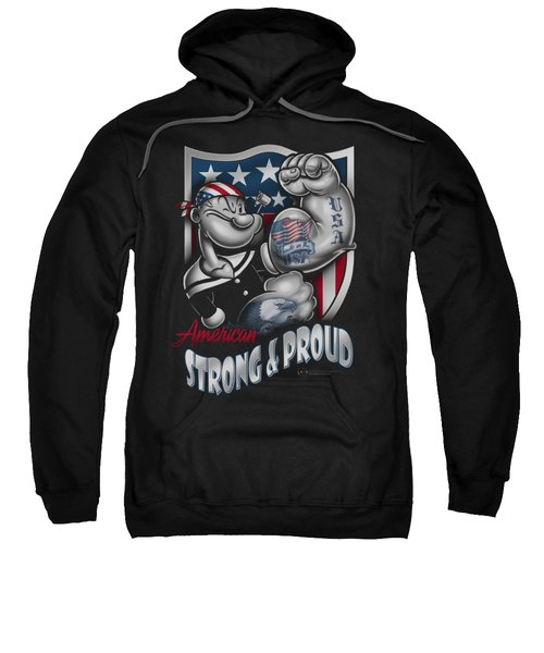 Popeye - Strong And Proud Sweatshirt by Brand A