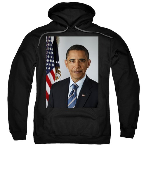 President Barack Obama Sweatshirt by Pete Souza