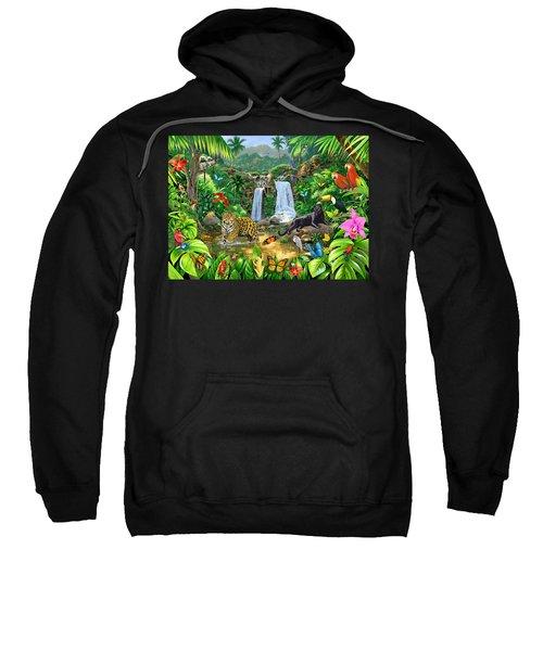 Rainforest Harmony Variant 1 Sweatshirt by Chris Heitt