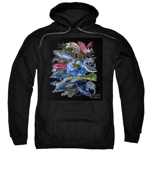 Save Our Seas In008 Sweatshirt by Carey Chen