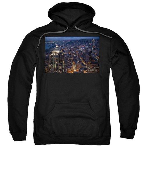 Seattle Urban Details Sweatshirt by Mike Reid
