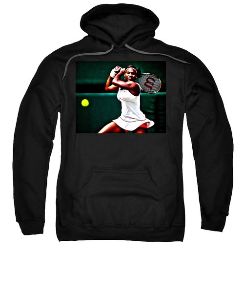 Serena Williams 3a Sweatshirt by Brian Reaves