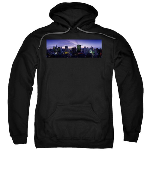 Skyscrapers, Chicago, Illinois, Usa Sweatshirt by Panoramic Images