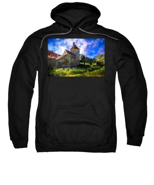 Spring Romance In The French Countryside Sweatshirt by Debra and Dave Vanderlaan