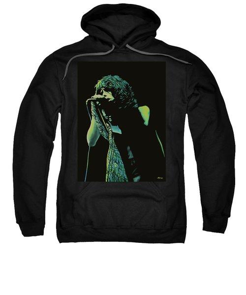 Steven Tyler 2 Sweatshirt by Paul Meijering
