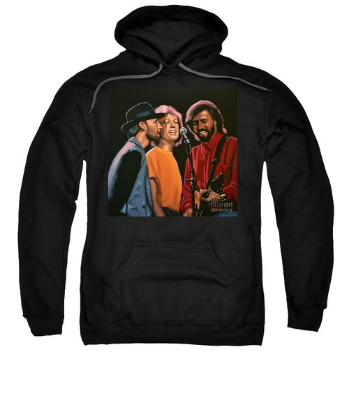 The Bee Gees Sweatshirt by Paul Meijering