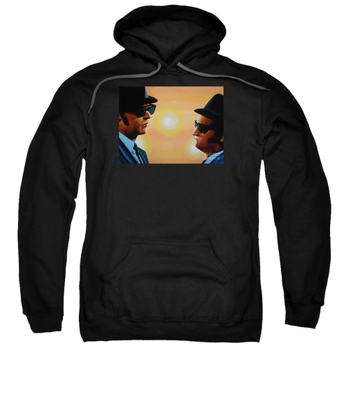 The Blues Brothers Sweatshirt by Paul Meijering