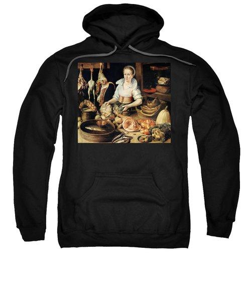 The Cook Sweatshirt by Pieter Cornelisz van Rijck