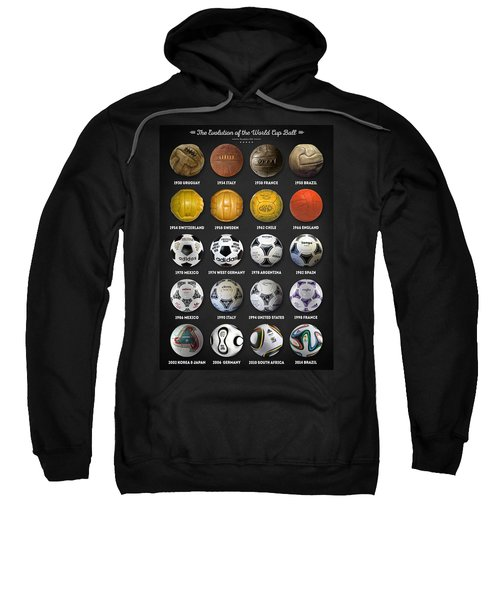 The World Cup Balls Sweatshirt by Taylan Soyturk