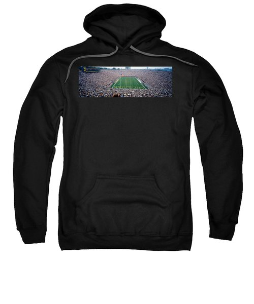 University Of Michigan Football Game Sweatshirt by Panoramic Images