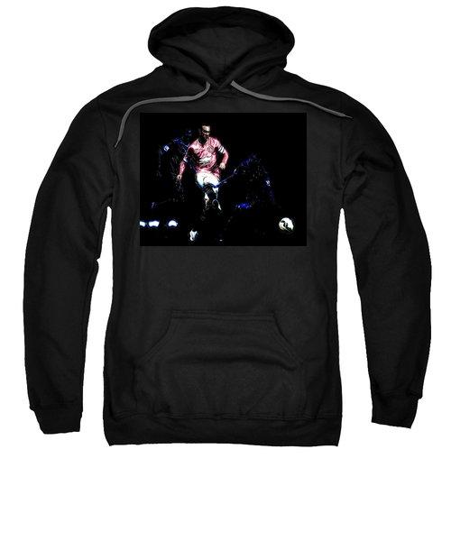 Wayne Rooney Working Magic Sweatshirt by Brian Reaves