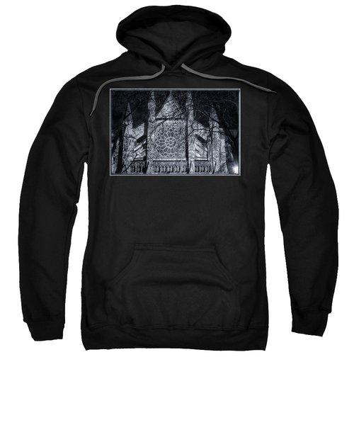 Westminster Abbey North Transept Sweatshirt by Joan Carroll