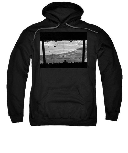 Yankee Stadium Grandstand View Sweatshirt by Underwood Archives
