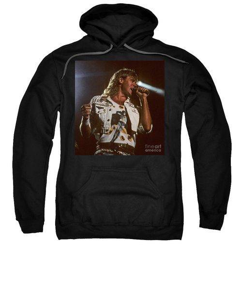 Joe Elliot Sweatshirt by David Plastik