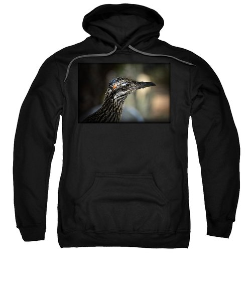 Portrait Of A Roadrunner  Sweatshirt by Saija  Lehtonen